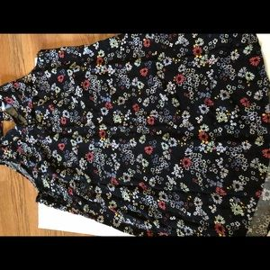 Women's old Navy no sleeve floral dress